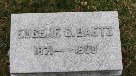 BAETZ, EUGENE C. - Erie County, Ohio | EUGENE C. BAETZ - Ohio Gravestone Photos