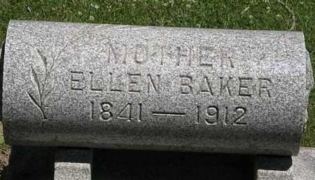 BAKER, ELLEN - Erie County, Ohio | ELLEN BAKER - Ohio Gravestone Photos