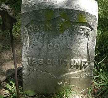 BAKER, JOHN - Erie County, Ohio | JOHN BAKER - Ohio Gravestone Photos