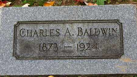 BALDWIN, CHARLES A. - Erie County, Ohio | CHARLES A. BALDWIN - Ohio Gravestone Photos