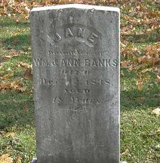 BANKS, JANE - Erie County, Ohio | JANE BANKS - Ohio Gravestone Photos