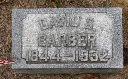 BARBER, DAVID S. - Erie County, Ohio | DAVID S. BARBER - Ohio Gravestone Photos