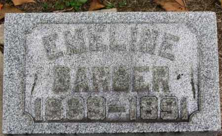 BARBER, EMELINE - Erie County, Ohio | EMELINE BARBER - Ohio Gravestone Photos