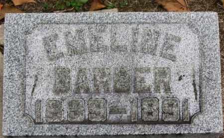 BARBER, EMELINE - Erie County, Ohio | EMELINE BARBER - Ohio Gravestone Photos