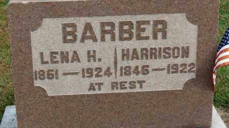 BARBER, HARRISON - Erie County, Ohio | HARRISON BARBER - Ohio Gravestone Photos