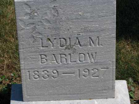 BARLOW, LYDIA M. - Erie County, Ohio | LYDIA M. BARLOW - Ohio Gravestone Photos