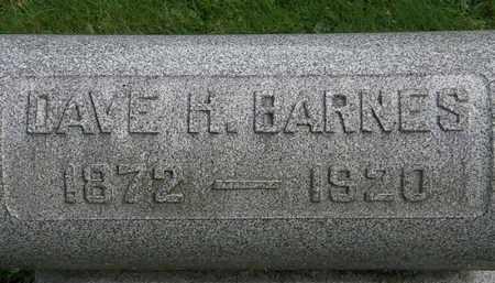 BARNES, DAVE H. - Erie County, Ohio | DAVE H. BARNES - Ohio Gravestone Photos
