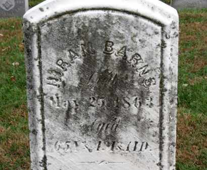 BARNS, HIRAM - Erie County, Ohio | HIRAM BARNS - Ohio Gravestone Photos