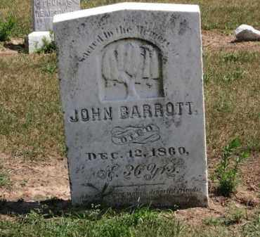 BARROTT, JOHN - Erie County, Ohio | JOHN BARROTT - Ohio Gravestone Photos