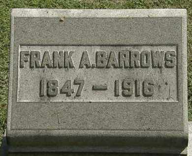 BARROWS, FRANK A. - Erie County, Ohio | FRANK A. BARROWS - Ohio Gravestone Photos