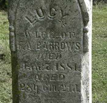 BARROWS, LUCY - Erie County, Ohio | LUCY BARROWS - Ohio Gravestone Photos
