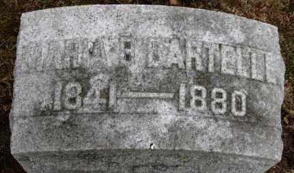 BARTELLE, MARIA B. - Erie County, Ohio | MARIA B. BARTELLE - Ohio Gravestone Photos