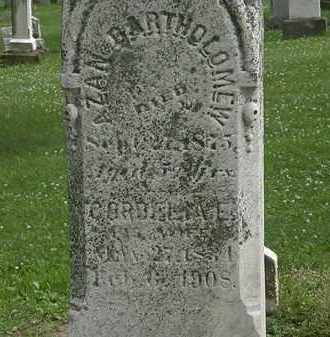 BARTHOLOMEW, AZAN - Erie County, Ohio | AZAN BARTHOLOMEW - Ohio Gravestone Photos