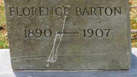 BARTON, FLORENCE - Erie County, Ohio | FLORENCE BARTON - Ohio Gravestone Photos