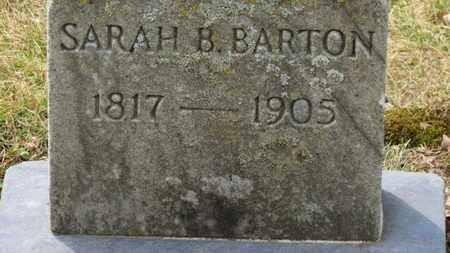 BARTON, SARAH B. - Erie County, Ohio | SARAH B. BARTON - Ohio Gravestone Photos