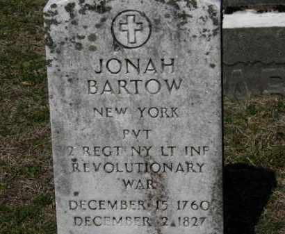 BARTOW, JONAH - Erie County, Ohio | JONAH BARTOW - Ohio Gravestone Photos