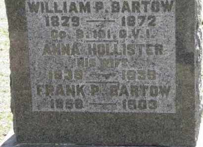 HOLLISTER BARTOW, ANNA - Erie County, Ohio | ANNA HOLLISTER BARTOW - Ohio Gravestone Photos