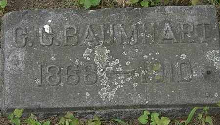 BAUMHART, C.C. - Erie County, Ohio | C.C. BAUMHART - Ohio Gravestone Photos