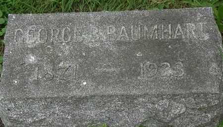 BAUMHART, GEORGE B. - Erie County, Ohio | GEORGE B. BAUMHART - Ohio Gravestone Photos