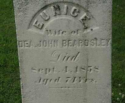 BEARDSLEY, EUNICE - Erie County, Ohio   EUNICE BEARDSLEY - Ohio Gravestone Photos