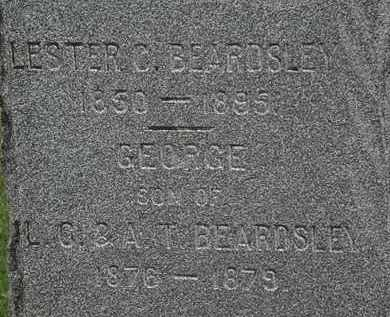 BEARDSLEY, LESTER C. - Erie County, Ohio | LESTER C. BEARDSLEY - Ohio Gravestone Photos