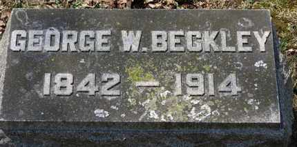 BECKLEY, GEORGE W. - Erie County, Ohio | GEORGE W. BECKLEY - Ohio Gravestone Photos