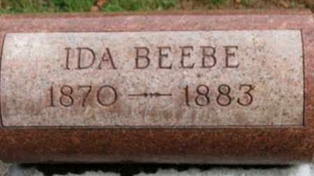 BEEBE, IDA - Erie County, Ohio | IDA BEEBE - Ohio Gravestone Photos