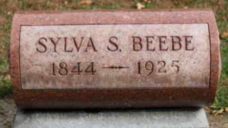 BEEBE, SYLVA S. - Erie County, Ohio | SYLVA S. BEEBE - Ohio Gravestone Photos