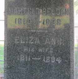 BELDEN, ELIZA ANN - Erie County, Ohio | ELIZA ANN BELDEN - Ohio Gravestone Photos