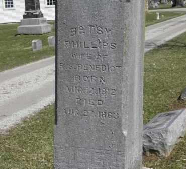 BENEDICT, BETSY - Erie County, Ohio | BETSY BENEDICT - Ohio Gravestone Photos