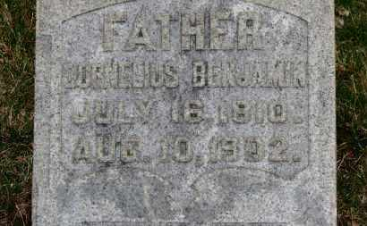 BENJAMIN, CORNELIUS - Erie County, Ohio | CORNELIUS BENJAMIN - Ohio Gravestone Photos