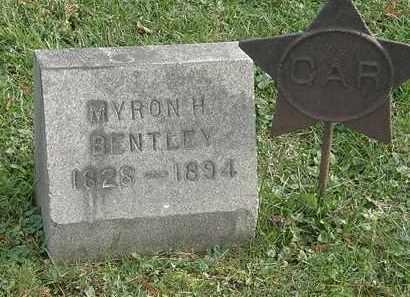 BENTLEY, MYRON H. - Erie County, Ohio | MYRON H. BENTLEY - Ohio Gravestone Photos
