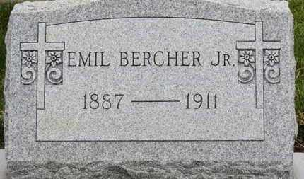BERCHER, EMIL - Erie County, Ohio | EMIL BERCHER - Ohio Gravestone Photos