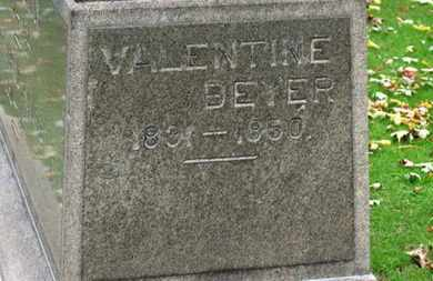 BRAUN, VALENTINE BEYER - Erie County, Ohio | VALENTINE BEYER BRAUN - Ohio Gravestone Photos