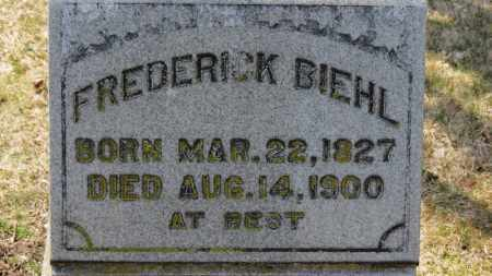 BIEHL, FREDERICK - Erie County, Ohio | FREDERICK BIEHL - Ohio Gravestone Photos