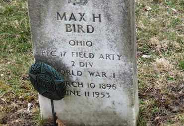 BIRD, MAX H. - Erie County, Ohio | MAX H. BIRD - Ohio Gravestone Photos