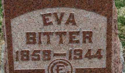 BITTER, EVA - Erie County, Ohio | EVA BITTER - Ohio Gravestone Photos