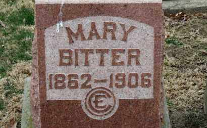 BITTER, MARY - Erie County, Ohio | MARY BITTER - Ohio Gravestone Photos