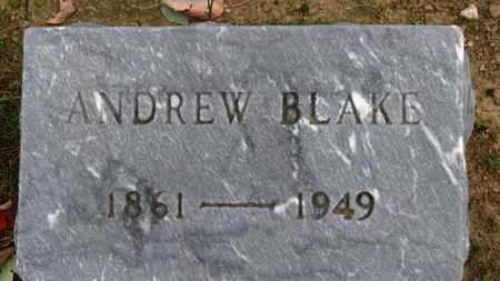 BLAKE, ANDREW - Erie County, Ohio | ANDREW BLAKE - Ohio Gravestone Photos