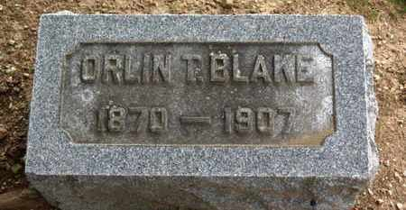 BLAKE, ORLIN T. - Erie County, Ohio | ORLIN T. BLAKE - Ohio Gravestone Photos