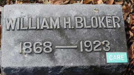 BLOKER, WILLIAM H. - Erie County, Ohio | WILLIAM H. BLOKER - Ohio Gravestone Photos