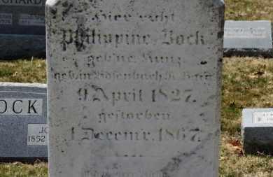 BOCK, PHILIPPINE - Erie County, Ohio   PHILIPPINE BOCK - Ohio Gravestone Photos