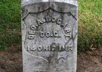 BOGART, GEO. A. - Erie County, Ohio | GEO. A. BOGART - Ohio Gravestone Photos
