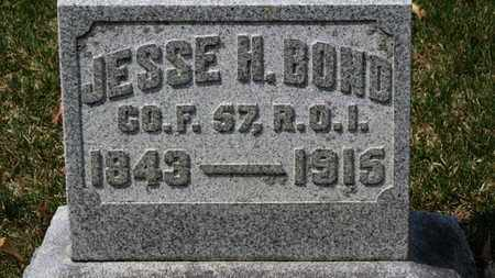 BOND, JESSE H. - Erie County, Ohio | JESSE H. BOND - Ohio Gravestone Photos