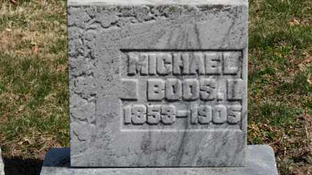 BOOS, MICHAEL - Erie County, Ohio | MICHAEL BOOS - Ohio Gravestone Photos