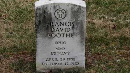 BOOTHE, FRANCIS DAVID - Erie County, Ohio | FRANCIS DAVID BOOTHE - Ohio Gravestone Photos