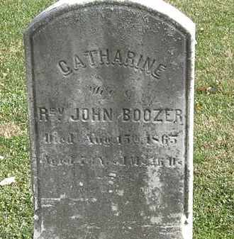 BOOZER, CATHARINE - Erie County, Ohio | CATHARINE BOOZER - Ohio Gravestone Photos