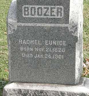 BOOZER, RACHEL EUNICE - Erie County, Ohio | RACHEL EUNICE BOOZER - Ohio Gravestone Photos