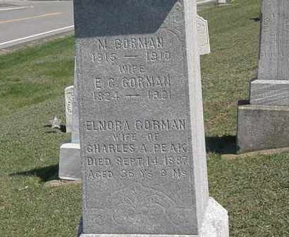 BORMAN, E.G. - Erie County, Ohio | E.G. BORMAN - Ohio Gravestone Photos