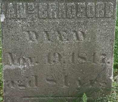 BRADFORD, AN. - Erie County, Ohio | AN. BRADFORD - Ohio Gravestone Photos